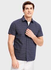 Кофта, рубашка, футболка мужская O'stin Рубашка из хлопка MS1SA9-69