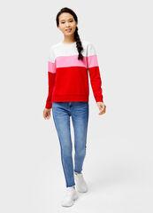 Кофта, блузка, футболка женская O'stin Толстовка с цветовыми блоками LT1V42-14