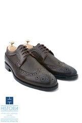 Обувь мужская HISTORIA Мужские туфли с брогированием и фактурной кожей