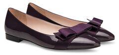 Обувь женская Ekonika Балетки EN1138-04 eggplant-18Z