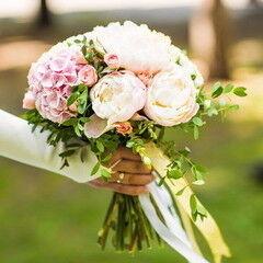 Магазин цветов Lia Свадебный букет «Оригинальный»