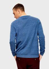 Кофта, рубашка, футболка мужская O'stin Джемпер с горловиной «хенли» MK4U12-62