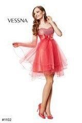 Вечернее платье Vessna Коктейльное платье арт.1102 из коллекции vol.1 & vol.2 & vol.3