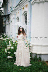 Свадебное платье напрокат Blammo-Biamo Платье свадебное The Rice  Grinel