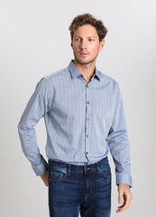 Кофта, рубашка, футболка мужская O'stin Рубашка мужская из хлопка MS1V53-62