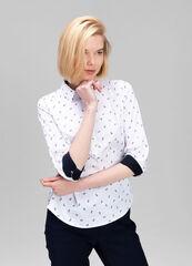 Кофта, блузка, футболка женская O'stin Офисная женская рубашка LS6V42-00