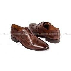Обувь мужская Keyman Туфли мужские оксфорд броги коричневые