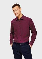 Кофта, рубашка, футболка мужская O'stin Рубашка с точечным принтом MS4U33-X8