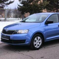 Прокат авто Прокат авто SKODA Rapid AT синий