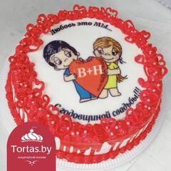 "Торт Tortas Торт на годовщину ""Love is"""