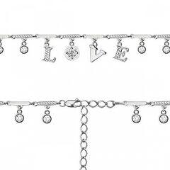 Ювелирный салон Аквамарин Браслет серебряный с фианитом 74115А