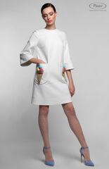 Платье женское Pintel™ Белое мини-платье А-силуэта NETTA