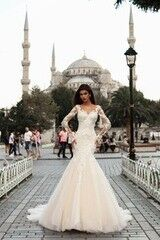 Свадебный салон Pollardi Платье свадебное Zehra