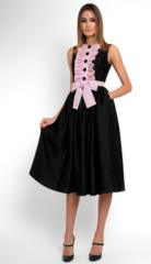 Платье женское Pintel™ Приталенное платье из шёлка без рукавов Wilma