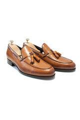 Обувь мужская HISTORIA Туфли мужские лоферы, с кисточками