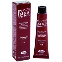 Уход за волосами Lisap Крем-краска для волос Man Color