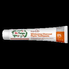 Уход за лицом tianDe Отбеливающая зубная фитопаста на древесном угле