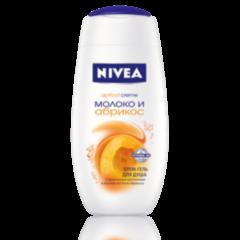 Уход за телом NIVEA Крем-гель для душа «Молоко и Абрикос»