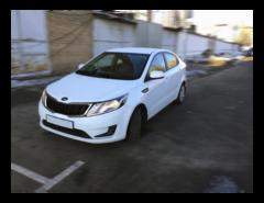 Прокат авто Прокат авто без водителя, KIA Rio (2014 г.в, белый)