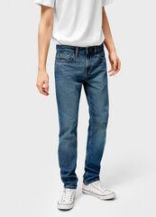 Брюки мужские O'stin Базовые зауженные джинсы MPD102-D4