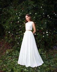 Свадебный салон UNONA Свадебное платье «Jen» из коллекции MALACHITE