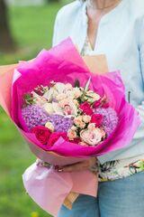 Магазин цветов Цветы на Киселева Букет «Вишневый уик-энд»