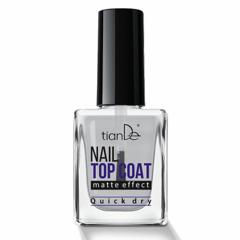 Декоративная косметика tianDe Топ-покрытие для ногтей с матовым эффектом