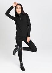 Кофта, блузка, футболка женская O'stin Джемпер женский с воротником-стойкой на молнии LT1V61-99
