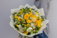 Магазин цветов Cvetok.by Букет «Сапфир»