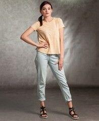 Кофта, блузка, футболка женская MISUTERI Футболка Sacai Yellow SS0168
