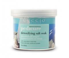 Уход за телом Cuccio Naturale Соль для педикюра «Морские водоросли и Чайное дерево»