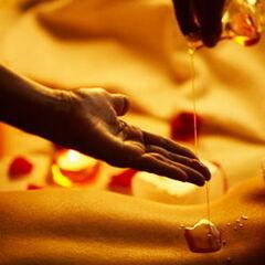 Магазин подарочных сертификатов Марсель Подарочный сертификат «Разогревающий массаж с применением разогревающих аромамасел (40 минут)»