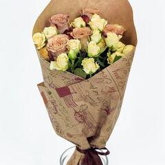 Магазин цветов Долина цветов Букет «Нежные розы»