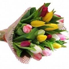 Магазин цветов Планета цветов Букет из тюльпанов №4