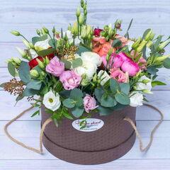 Магазин цветов Долина цветов Цветочная композиция «Грация»