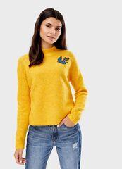 Кофта, блузка, футболка женская O'stin Джeмпер из пряжи с шерстью LK4T85-Y4