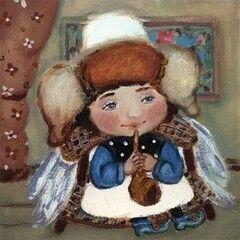Подарок Славутасць Картина «Ангел-музыкант»  tar06