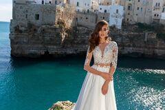 """Свадебное платье напрокат А-силуэт ALIZA свадебное платье """"Banny"""""""
