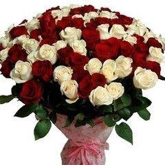 Магазин цветов Долина цветов Букет «101 роза»