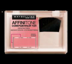 Декоративная косметика MAYBELLINE Компактные румяна «Совершенный тон» Affinitone Blush 73 янтарно-розовый