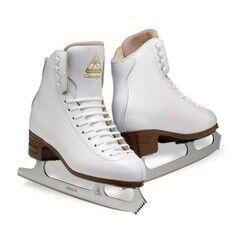Коньки Jackson Коньки для фигурного катания DJ2190 Freestyle Aspire white