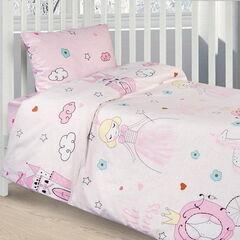 Подарок Ecotex Комплект постельного белья в детскую кроватку арт. 28