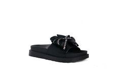 Обувь женская Laura Biagiotti Шлепанцы женские 6085 (черные)