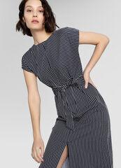 Платье женское O'stin Платье прямого силуэта в полоску LR4W83-68