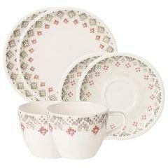 Подарок Villeroy&Boch Набор для завтрака Artesano Montagne на 2 персоны, 4 предмета (2 чашки кофейные с блюдцами, 2 тарелки салатные)