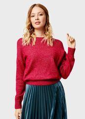 Кофта, блузка, футболка женская O'stin Укороченный джемпер с лентами LK1U1C-X5