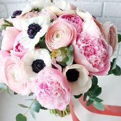 Магазин цветов Кошык кветак Букет свадебный №7