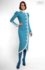 Платье женское Pintel™ Приталенное платье из натуральной шерсти Lambersona