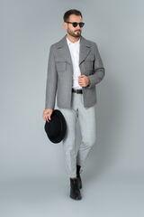 Верхняя одежда мужская Etelier Пальто мужское демисезонное 1М-9132-1