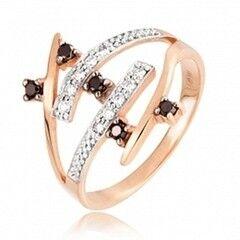 Ювелирный салон Jeweller Karat Кольцо золотое с бриллиантами арт. 1211732ч